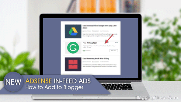 adsense in feed ad unit for blogger