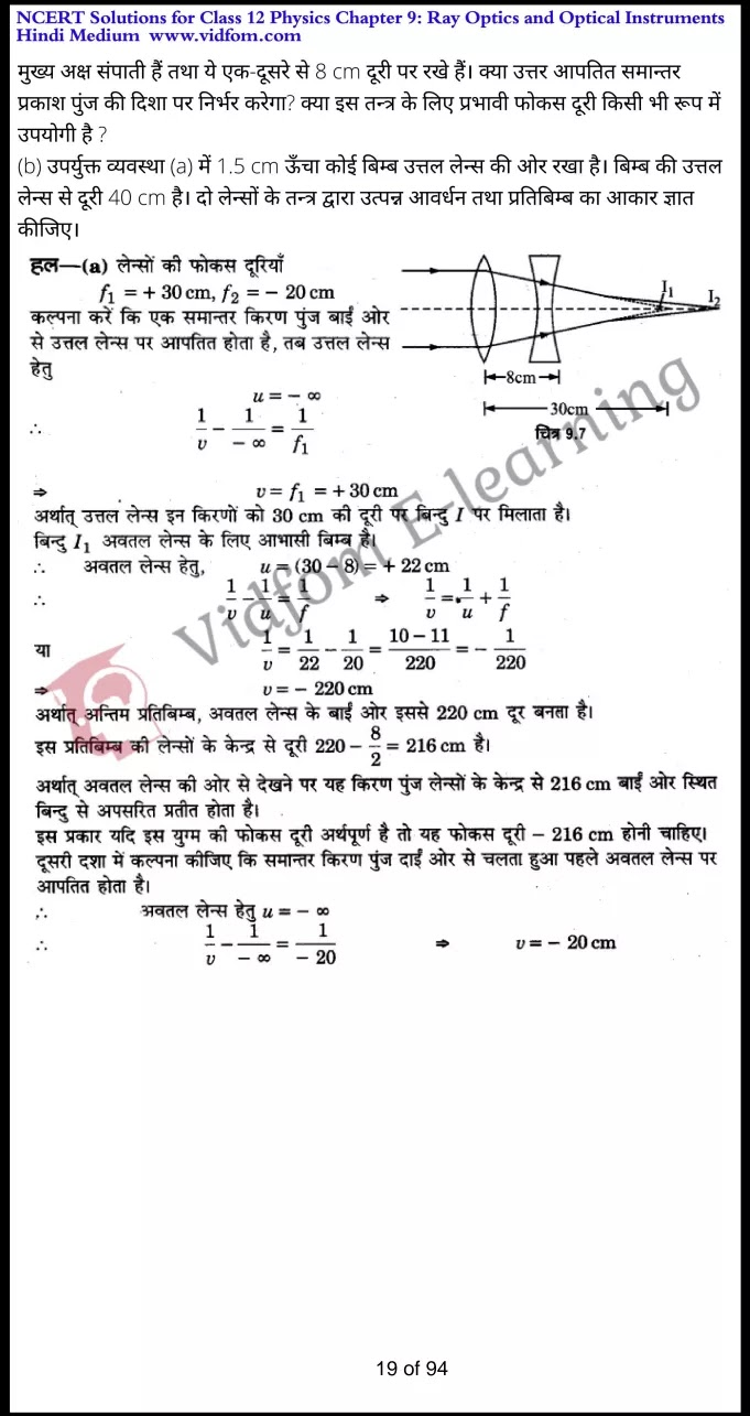 class 12 physics chapter 9 light hindi medium 19