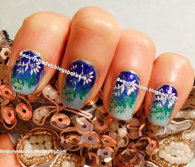 Stamping Nail Art Konad m15