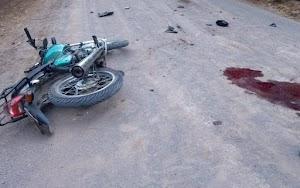 Colisão frontal de motos provoca morte de homem em Guajará-Mirim