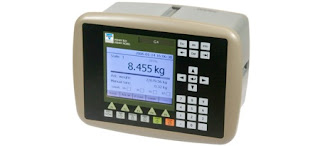 human interface for industrial high speed weighing system