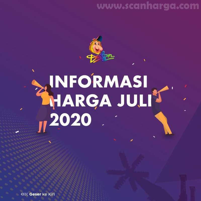 Promo Dufan Tiket Reguler Periode Juli 2020 1