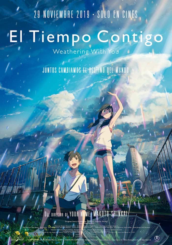 El tiempo contigo (Weathering with you) - Makoto Shinkai - Selecta Visión