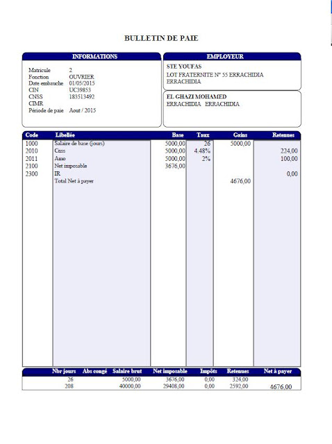 Comment remplir l'Etat 9421,espace-entreprises.com