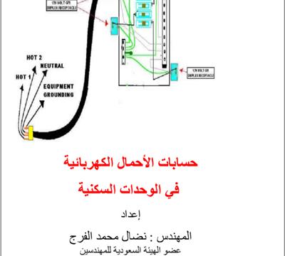 حسابات الاحمال الكهربيه في الوحدات السكنيه
