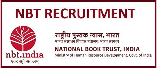 NBT Various Post Recruitment 2020