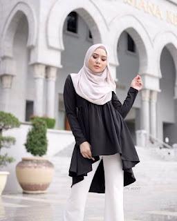 contoh model Busana Muslim Baju Kurung