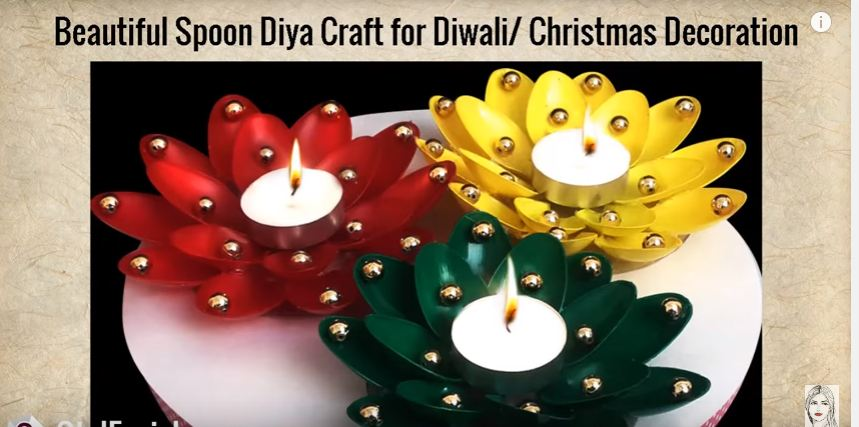 Diy diwali home decoration ideas how to decorate diwali for Art and craft for diwali decoration