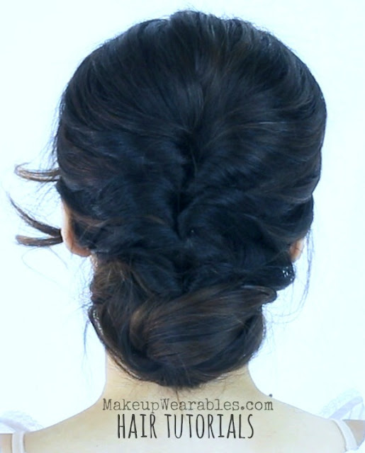 Hairstyles For Wedding Parties: Easy, 5 Min Elegant Party Updos