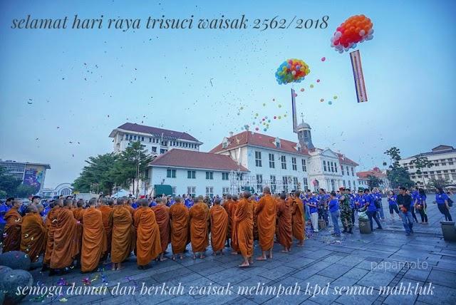 Selamat Hari Raya Trisuci Waisak 29 Mei 2018