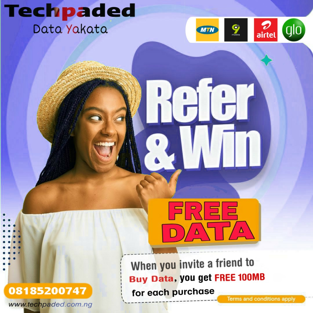 data Yakata refer and win free 1gb mtn data