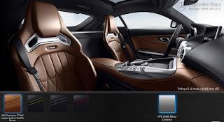 Nội thất Mercedes AMG GT S 2019 màu Nâu Saddle 564