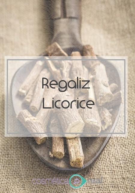 Extracto de regaliz para manchas o como usar el Licorice para la piel