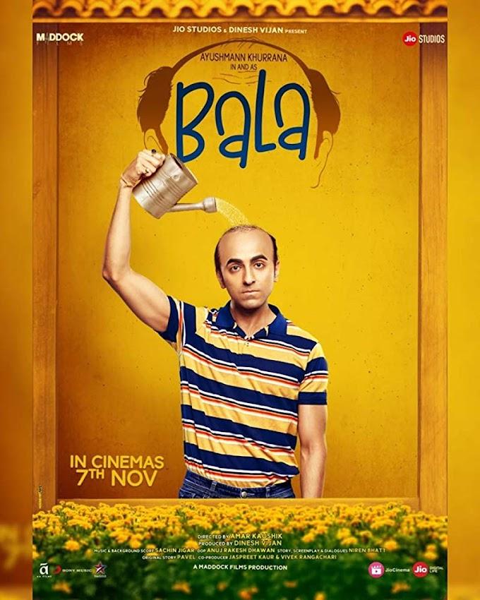 Bala 2019 Hindi Movie 480p HDRip – [400MB]