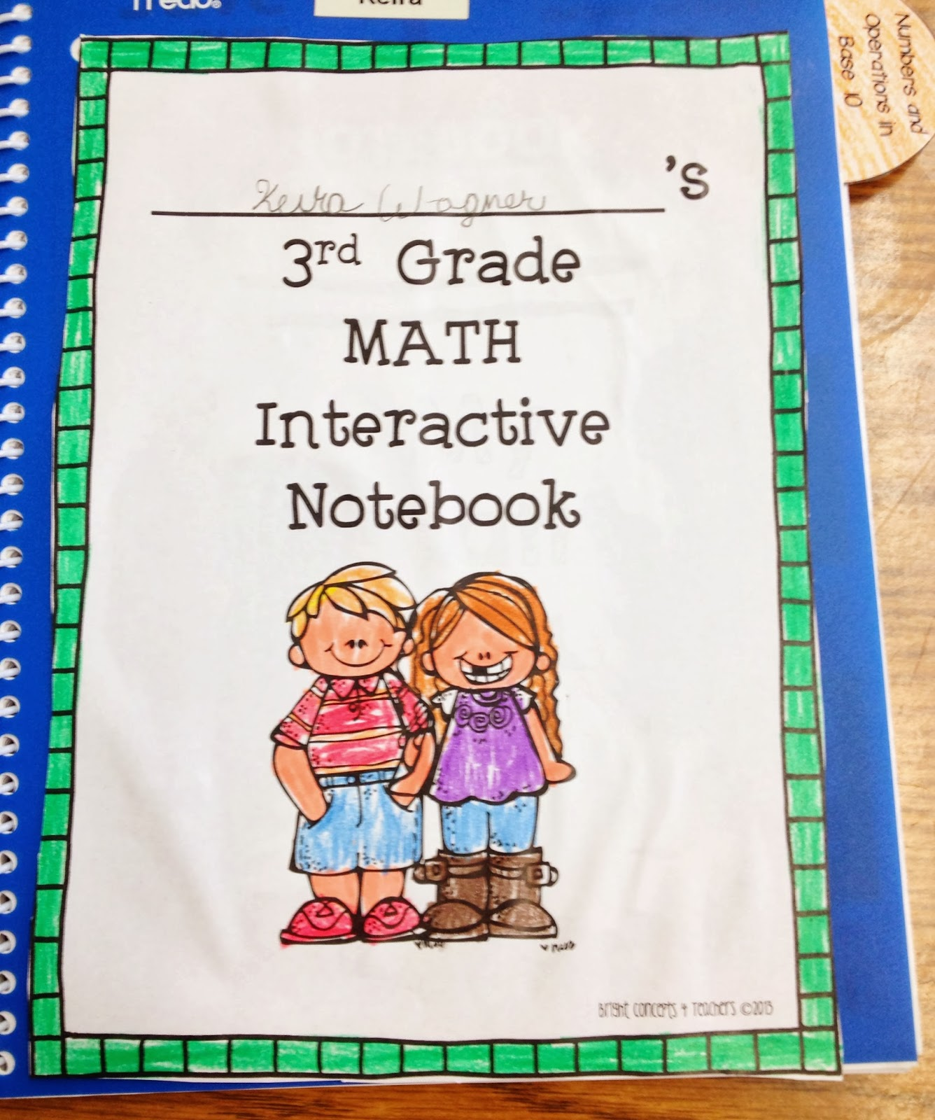 Interactive Math Notebooks - Sailing into Second
