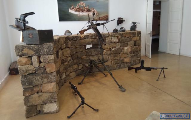 Armes del museu