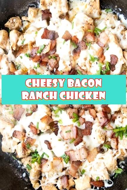 #Cheesy #Bacon #Ranch #Chicken