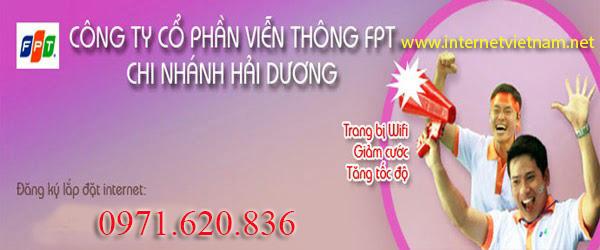Lắp Mạng Internet FPT Phường Hải Tân, Tp Hải Dương 1