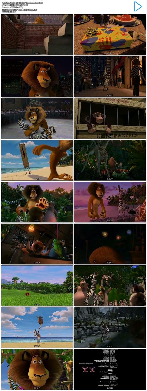 Madagascar 2005 Hindi Dual Audio 720p HEVC BluRay Free Download