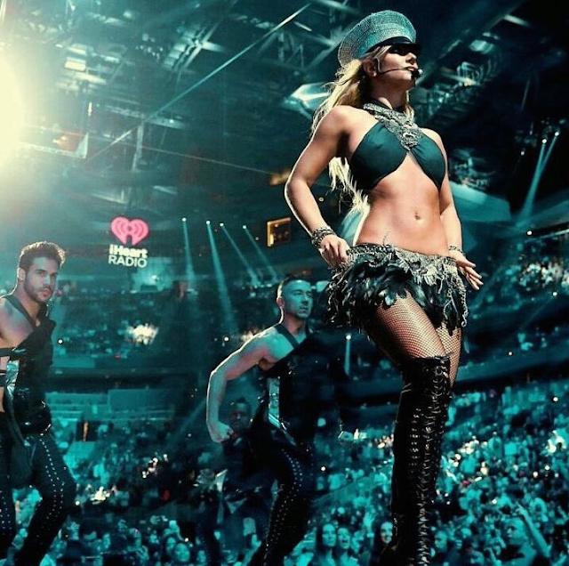 La presentación de Britney Spears fue elegida como la mejor el iHeartRadio Music Festival