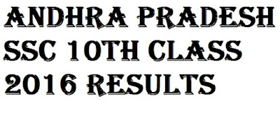 Andhra Pradesh SSC Results 2016