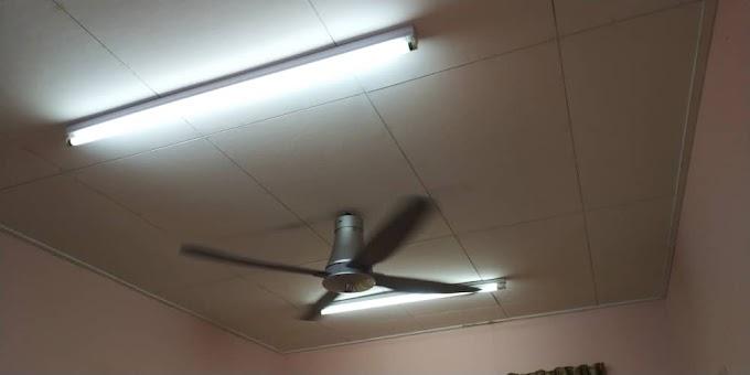 Pemasangan Lampu Kalimantang Dan Kipas Di Area Kajang, Selangor
