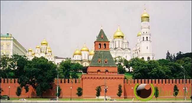 Tembok Kremlin – Moskwa