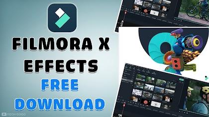 Chia sẻ toàn bộ hiệu ứng Filmora X Effects