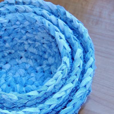 Fabric Nesting Baskets
