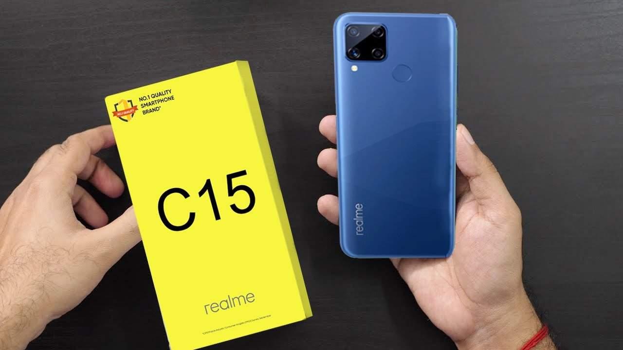Realme C15 Baterai 6.000 mAh Fast Charging (youtube.com)
