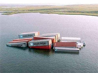 sunk containers