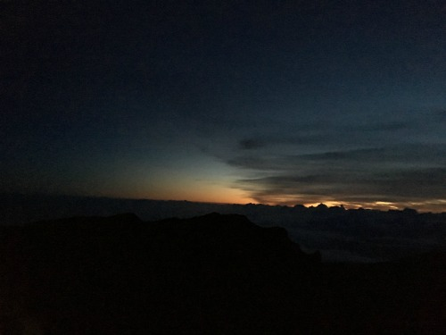 Haleakala Sunrise on Maui