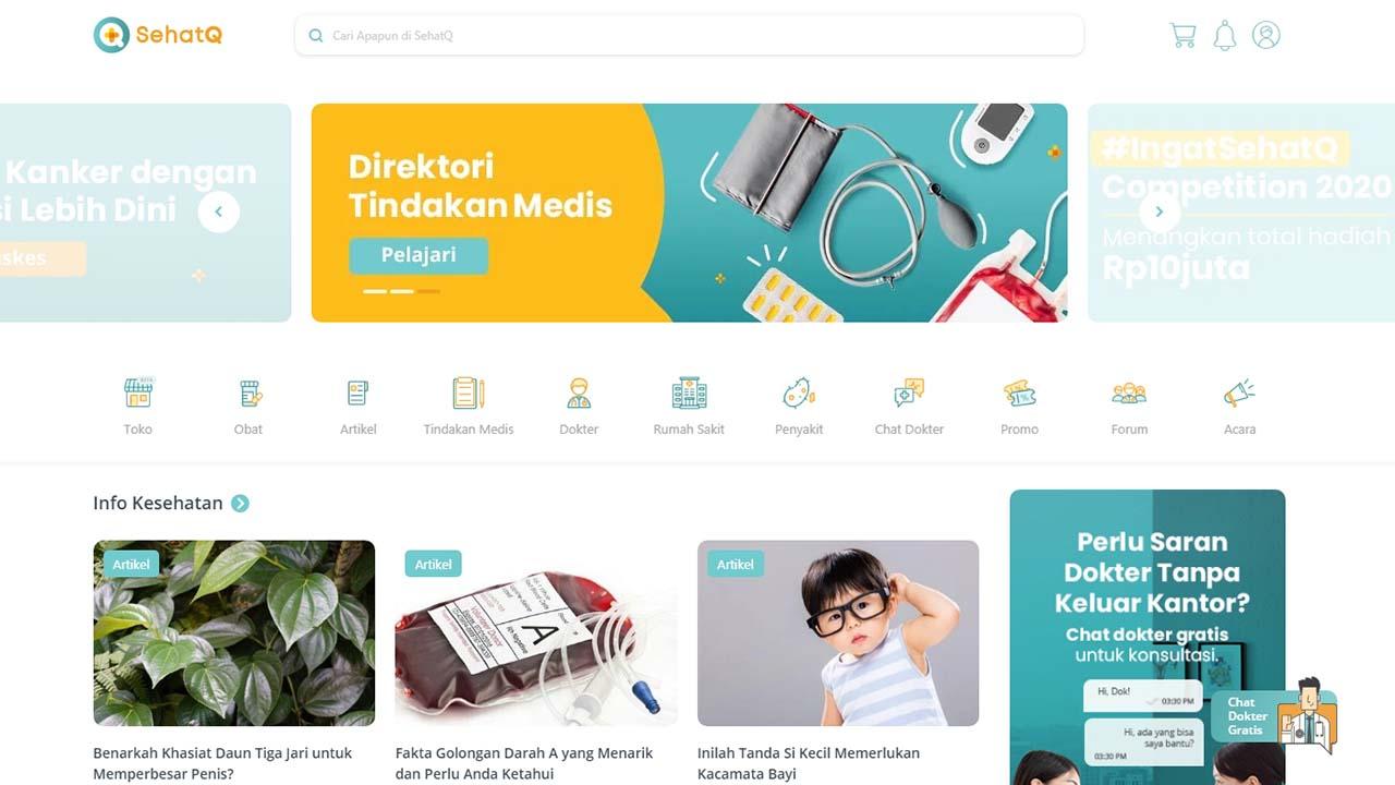 5 Manfaat SehatQ.com Untuk Kesehatan Masyarakat Indonesia