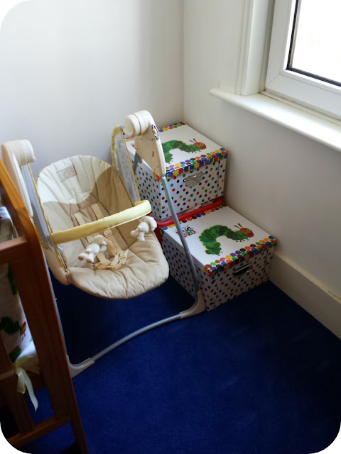 Hungry Caterpillar storage, very hungry caterpillar children's bedroom