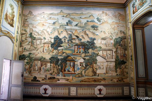 La carta da parati delle Sale Cinesi del Castello Reale di Govone