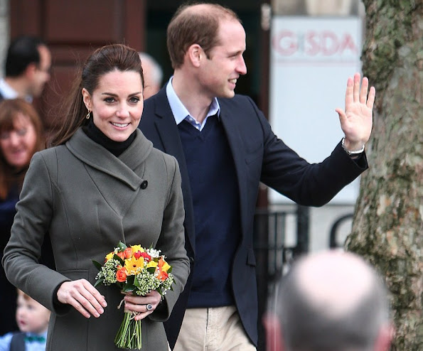 Catherine, Duchess of Cambridge and Prince William, Duke of Cambridge visit Caernarfon
