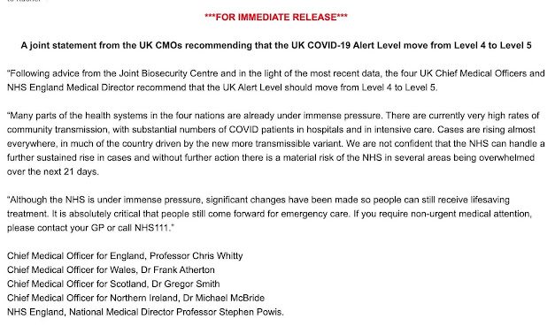 040121 Statement from the 4 UK CMO's Text copied below for you