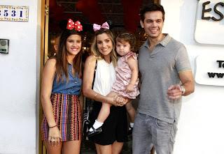 b2d6f3ce6a1d5 Flávia Alessandra e Otaviano Costa comemoraram o aniversário de 2 anos da  filha Olívia na tarde desta sexta-feira (5). A festa foi realizada no  Espaço ...