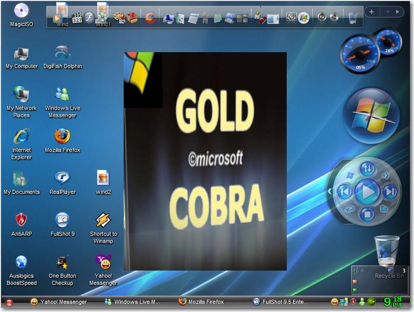 Windows XP Pro  SP3 Gold Cobra Edition ~ FileHippopotamus