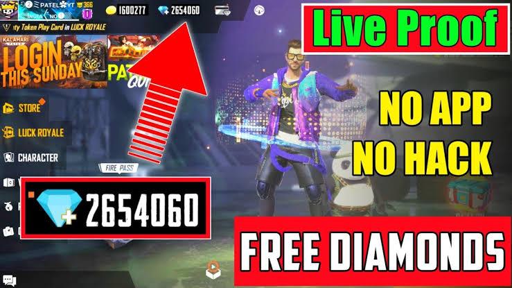 How To Get Free Freefire 3 Giveaway How To Free Redeem Code 1000 2020 Real Dimond Freefire Redeem Code Mera Avishkar