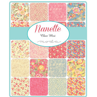 Moda Nanette Fabric by Chez Moi for Moda Fabrics