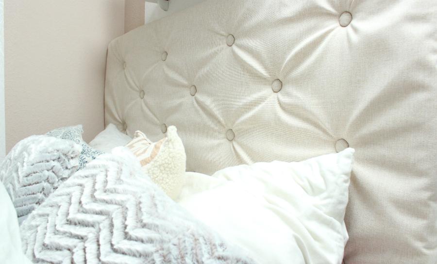 sandra felicia diy kingsize bett kopfteil. Black Bedroom Furniture Sets. Home Design Ideas