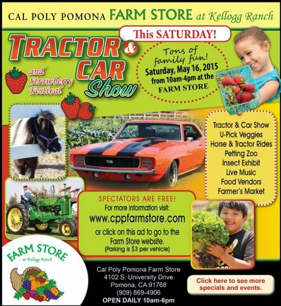Montebello Mom: Tractor & Car Show / Strawberry Festival ...