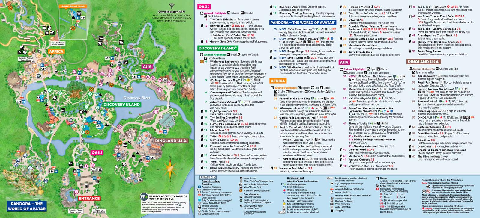 Mapa Animal Kingdom