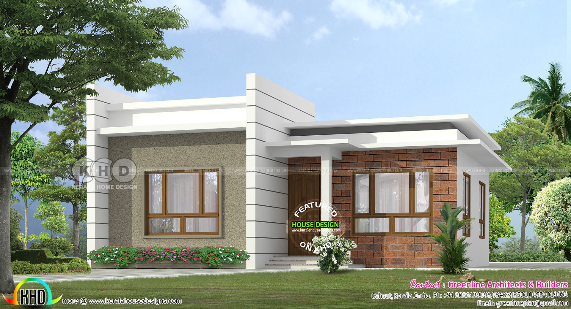 Low cost house under 15 000 kerala home design bloglovin for Sedie design low cost