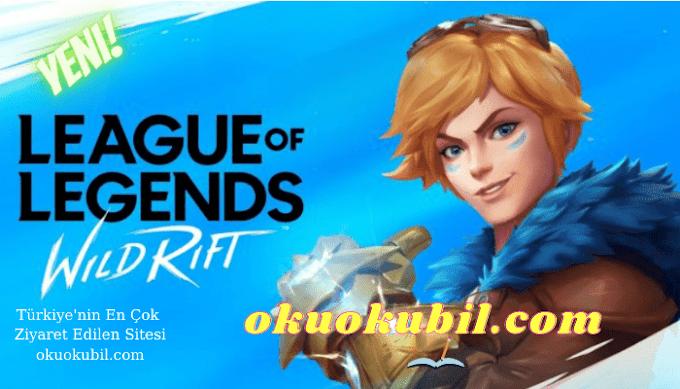 League of Legends Wild Rift Mod Skin Menü v1 Son Sürüm Hilesi 2021