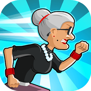 Télécharger Angry Gran Run MOD Apk pour android