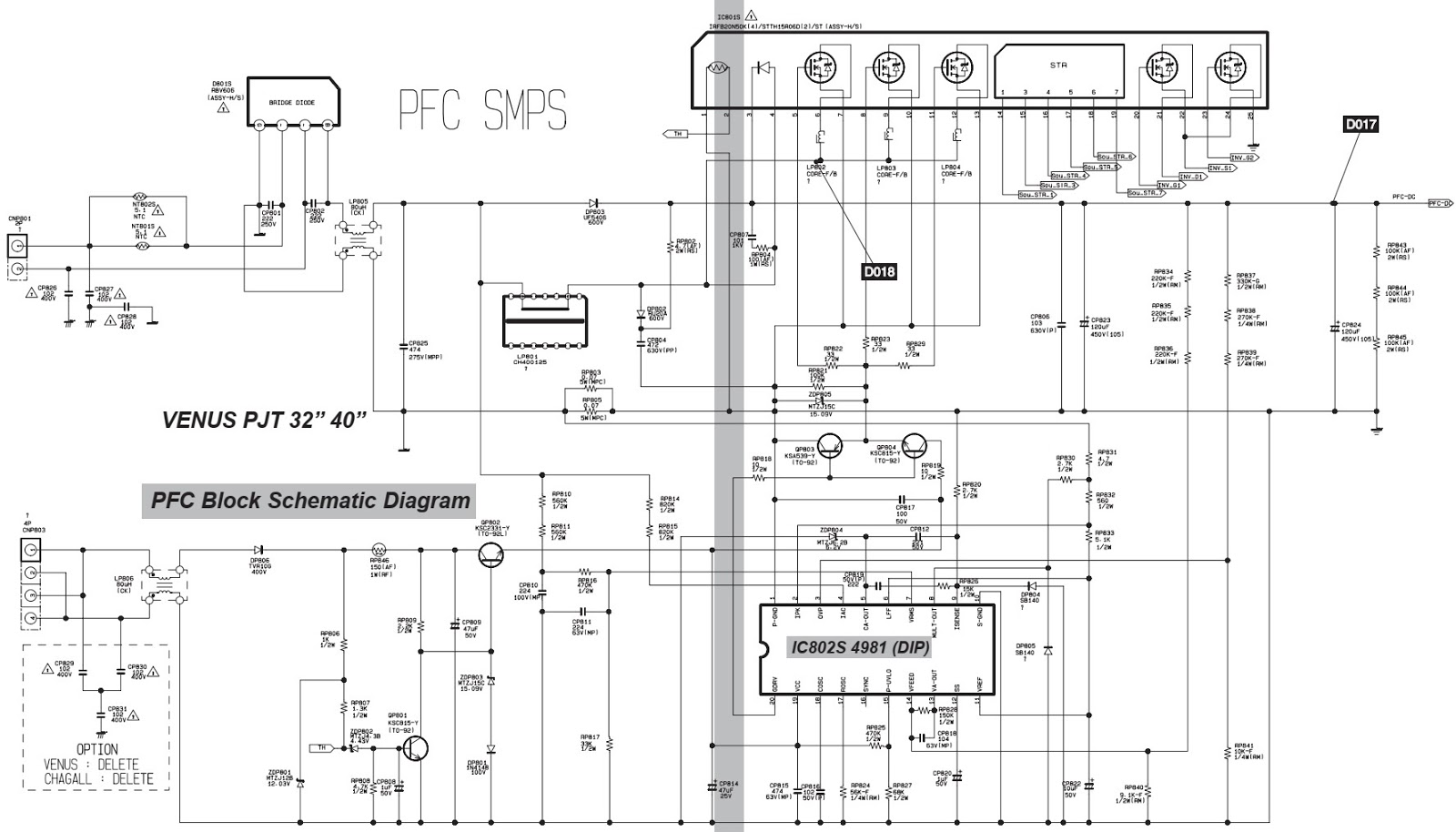 Master Electronics Repair    Samsung Model Lw32a23w    Lw40a23w Bn41 00256c Lcd Tv Smps Schematic