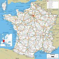Harta Franta Harta Fizica