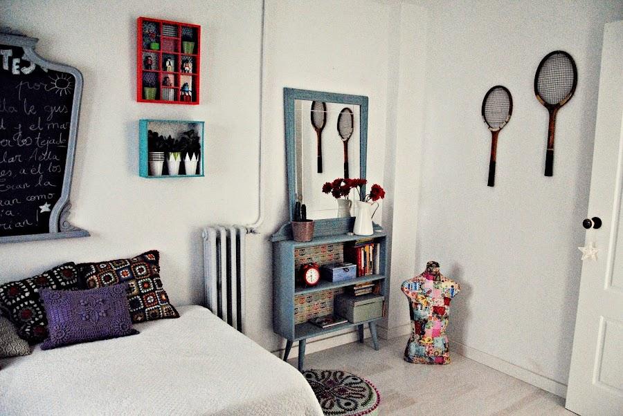 Decoración dormitorio estilo nórdico